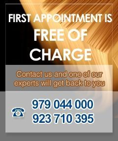 First Appointment Free of Charge